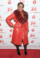 NEW YORK, NY - FEBRUARY 07: Phaedra Parks attends The American Heart Association's Go Red For Women Red Dress Collection 2019 Presented By Macy's at Hammerstein Ballroom on February 7, 2019 in New York City.     <br /> CAP/MPI/GN<br /> ©GN/MPI/Capital Pictures