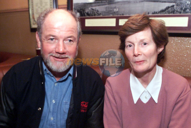John Farrelly, Sydney and Mary Davitt, Stamullen, at the poker classic in Whytes pub..Picture:Newsfile