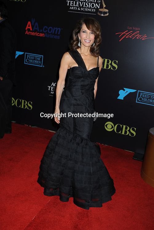 Susan Lucci  arriving to the 37th Annual Daytime Emmy Awards on June 27, 2010 .at the Hilton in Las Vegas, Nevada.