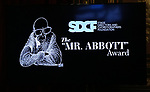 "The ""Mr. Abbott"" Award 2019 Presentation at The Metropolitan Club on 3/25/2019 in New York City."