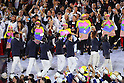 Refugee Olympic Team (ROA), <br /> AUGUST 5, 2016 : <br /> Opening Ceremony <br /> at Maracana <br /> during the Rio 2016 Olympic Games in Rio de Janeiro, Brazil. <br /> (Photo by Yohei Osada/AFLO SPORT)