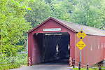 Cornwall covered Bridge in West Cornwall, Litchfield Hills, CT