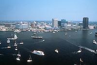 1990 January ..Redevelopment.Downtown South (R-9)..WATERFRONT.DOWNTOWN SKYLINE & HARBOR...NEG#.NRHA#..