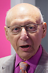 © Joel Goodman - 07973 332324 . No syndication permitted . FILE PICTURE DATED 02/11/2013 of Manchester Gorton MP SIR GERALD KAUFMAN at an event in his constituency as the MP has today (11th December 2013) been complaining to Parliament about bad responses to parliamentary questions from the Minister for Immigration, Mark Harper who, says Mr Kaufman, has failed to respond to repeated correspondence instead leaving replies to be sent by junior colleague , Lord Taylor of Holbeach . Photo credit : Joel Goodman