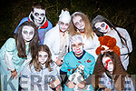 Killarney Scorchers scaring the bejesus out of everyone at the Knocknagoshel Ghost Trail on Sunday night front row l-r: Rebecca O'Sullivan, Darragh Begley, Wiktoria Kowalowka. Back row: Keelan O'Leary, Rafil Kowalowka,Sheila O'Sullivan, Dee Nolan, Caitlin Nolan