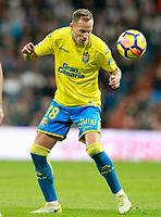 UD Las Palmas' Javi Castellano during La Liga match. November 5,2017. (ALTERPHOTOS/Acero)