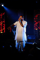 Tech N9ne performing at Pop's in Sauget, IL on Nov 1, 2008.