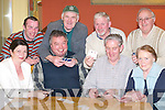 31: Playing cards at the County Final of the 31 Card Drive on Friday in Darby OGills, Killarney, were, front row l-r: Cathy Kelliher, Kilgarvan, DD Kissane and Johnny Randles, Killarney, and Mary McDonald, Kilgarvan. Back row l-r: Denis Cronin, Patrick Cahill and Eddie Philipson, Killarney, and John OSullivan, Kilgarvan..