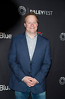 "LOS ANGELES - MAR 16:  Chris Licht at the PaleyFest - ""An Evening With Stephen Colbert"" Event at the Dolby Theater on March 16, 2019 in Los Angeles, CA"