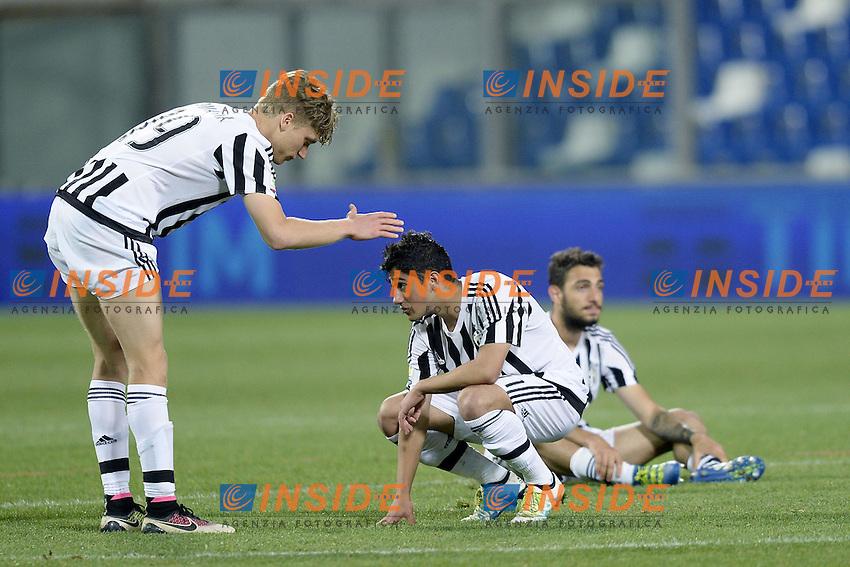 Reggio Emilia 04-06-2016 - finale Campionato Primavera / Roma-Juventus / foto Daniele Buffa/Image Sport/Insidefoto<br /> nella foto: delusione Juventus