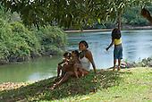 Pará State, Brazil. Aldeia Koatinemo (Asurini).