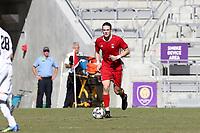 Orlando, Florida - Wednesday January 17, 2018: Markus Fjortoft. Match Day 3 of the 2018 adidas MLS Player Combine was held Orlando City Stadium.