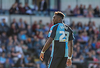 Gozie Ugwu of Wycombe Wanderers during the Sky Bet League 2 match between Wycombe Wanderers and Plymouth Argyle at Adams Park, High Wycombe, England on 12 September 2015. Photo by Andy Rowland.