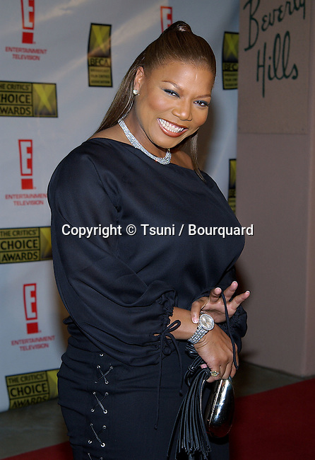 Queen Latifah arriving at the 8th Annual Critics' Choice Awards at the Beverly Hills Hotel in Los Angeles. January 17, 2003.           -            QueenLatifah50.jpg