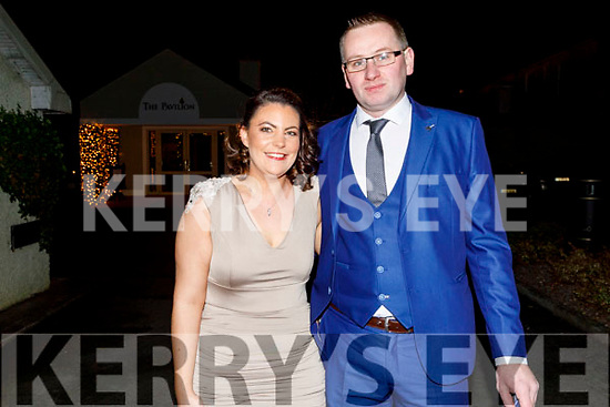 Enjoying the Macra 75th Anniversary Dance in Ballygarry House Hotel on Saturday.<br /> L to r: Aoife O'Hanlon (Castleisland District) and Aidan Griffin (Glencar).