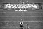 CARSON, CA - JULY 13:  General view of Men's Ball Throw - Triplet Competition during the 2012 Crossfit Games on July 13, 2012 at the Home Depot Center in Carson, California. (Photo by Donald Miralle) *** Local Caption *** .