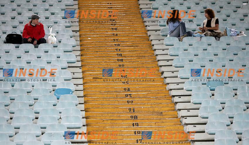 spalti dell'Olimpico con pochi tifosi<br /> Italian &quot;Serie A&quot; 2006-07<br /> 15 Oct 2006 (match 6)<br /> Lazio - Cagliari 0-0<br /> &quot;Olimpico&quot; Stadium-Roma-Italy<br /> Photographer Antonietta Baldassarre INSIDE