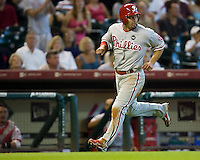 Victorino, Shane 6030.jpg Philadelphia Phillies at Houston Astros. Major League Baseball. September 7th, 2009 at Minute Maid Park in Houston, Texas. Photo by Andrew Woolley.