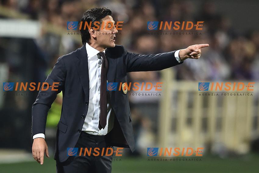 Vincenzo Montella Milan <br /> Firenze 25-09-2016  Stadio Artemio Franchi <br /> Campionato Serie A Fiorentina - Milan <br /> Foto Andrea Staccioli / Insidefoto