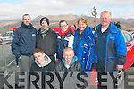 THRILLING: Pictured at the Killarney Rally of the Lakes on Saturday morning were front l-r: Jim and John Shanahan. Back l-r: Alan O'Halloran, Steven O'Connell with Sarah, Margaret and Brendan Shanahan, all from Abbeydorney.