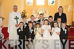 Pupils from St Teresa's NS, Kilflynn who made their First Holy Communion on Saturday in St Mary's Church, were Jack McKenna, Darragh Murnane, Darragh O'Donoghue, Sean Murnane, Sarah Corkery, Aodhan McKenna, Tirna Brosnan, Eamonn Rohan, Martina McElligott, Daniel O'Rourke and Daniel Quirke.