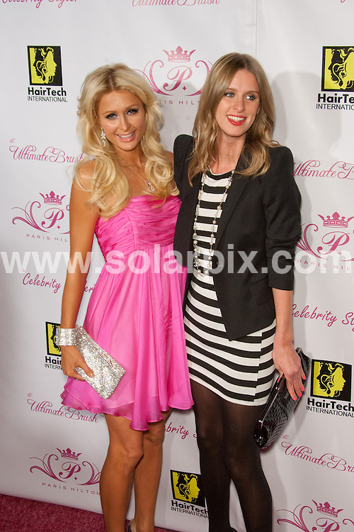 **ALL ROUND PICTURES FROM SOLARPIX.COM**.**SYNDICATION RIGHTS FOR UK, AUSTRALIA, DENMARK, PORTUGAL, S. AFRICA, SPAIN & DUBAI (U.A.E) ONLY**.Äôs Beauty Line Launch Party  at The Thompson Hotel in Beverly Hills, CA, USA .This pic:   Paris Hilton and Nicky Hilton.JOB REF:  10282   PHZ/Hatcher    DATE: 18.11.09.**MUST CREDIT SOLARPIX.COM OR DOUBLE FEE WILL BE CHARGED**.**MUST NOTIFY SOLARPIX OF ONLINE USAGE**.**CALL US ON: +34 952 811 768 or LOW RATE FROM UK 0844 617 7637**