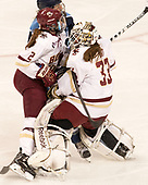 ?, Grace Bizal (BC - 2), Katie Burt (BC - 33) - The Boston College Eagles defeated the visiting University of Maine Black Bears 2-1 on Saturday, October 8, 2016, at Kelley Rink in Conte Forum in Chestnut Hill, Massachusetts.  The University of North Dakota Fighting Hawks celebrate their 2016 D1 national championship win on Saturday, April 9, 2016, at Amalie Arena in Tampa, Florida.