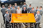 Third Year Students from St. Patrick's Secondary School, Castleisland  were awarded the Amber Flag last week for for promoting positive mental health in their school Front l-r  Padraig O'Connor and Tommy Curtin. Middle l-r  Darragh O'Connor, Charlie Conway, Lorcan Hickey, Miss Collins, Mr O'Donovan, Adam Fallen and Moss O'Callaghan. Back l-r  Denis O'Mahony, Brian O'Sullivan, Dillon Brown, Adam Manley and Anthony Bird.
