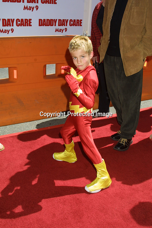 ©2003 KATHY HUTCHINS / HUTCHINS PHOTO.DADDY DAY CARE PREMIERE.WESTWOOD, CA.MAY 4, 2003..JIMMY BENNETT