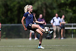 CARY, NC - APRIL 20: Courtney Niemiec. The North Carolina Courage held a training session on April 20, 2017, at WakeMed Soccer Park Field 7 in Cary, NC.