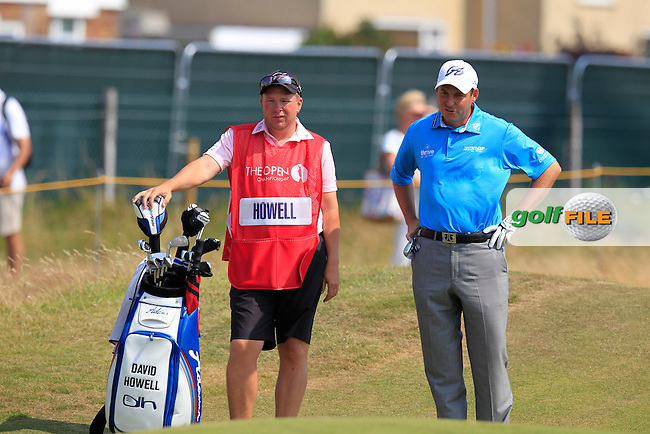 David HOWELL (ENG) during round two of The 143rd Open championship Royal Liverpool Golf club, Hoylake, England.: Picture Eoin Clarke, www.golffile.ie: 18th July 2014