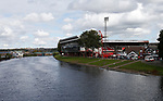 General view of the stadium across the river Trent during the Championship match at the City Ground Stadium, Nottingham. Picture date 30th September 2017. Picture credit should read: Simon Bellis/Sportimage