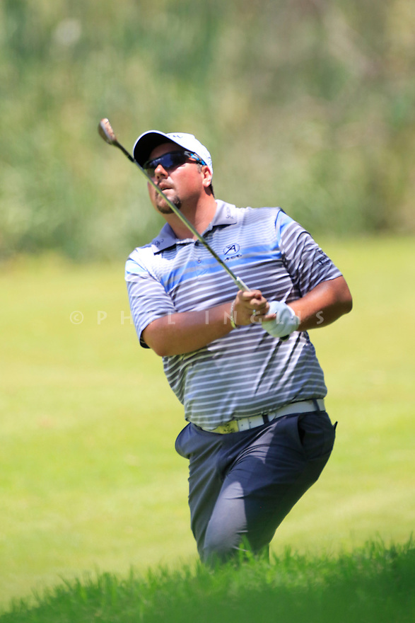 Jaco Ahlers (RSA) during the third round of the Barclays Kenya Open played at Muthaiga Golf Club, Nairobi, Kenya 22nd - 25th March 2018 (Picture Credit / Phil Inglis) 22/03/2018<br /> <br /> <br /> All photo usage must carry mandatory copyright credit (&copy; Golffile | Phil Inglis)