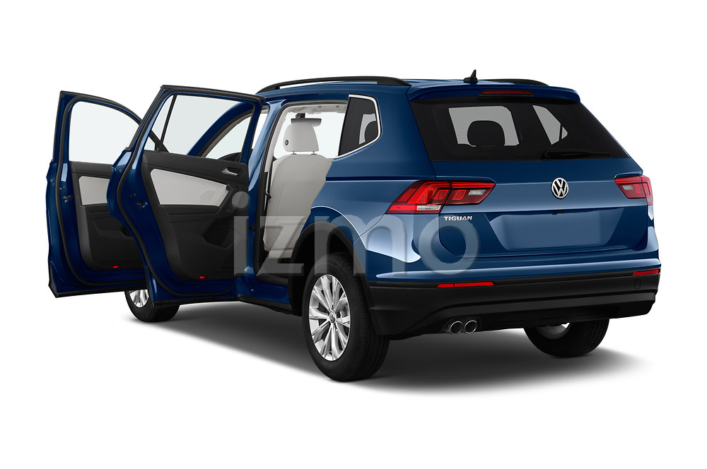Car images close up view of a 2019 Volkswagen Tiguan Confrontline-business  5 Door SUV doors