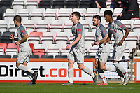 Ben Woodburn of Liverpool middle walks back for the restart after scoring the first goal during AFC Bournemouth Under-21 vs Liverpool Under-21, Premier League Cup Football at the Vitality Stadium on 24th February 2019