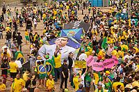 BRASILIA, DF, 01.01.2019 - BOLSONARO-POSSE- Movimentação em frente ao Palácio do Planalto, durante a posse do presidente da República, Jair Bolsonaro, nesta terça-feira, 01.(Foto:Ed Ferreira / Brazil Photo Press)