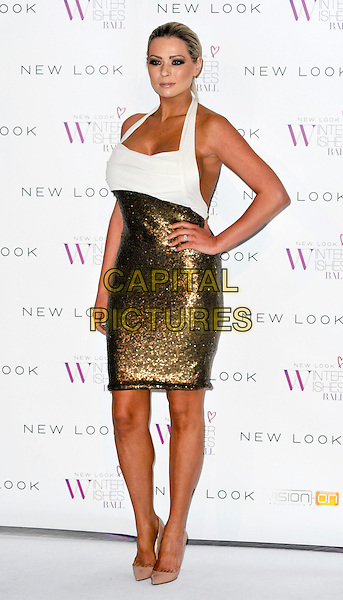 LONDON, ENGLAND - NOVEMBER 06: Nicola Mclean at the New Look Winter Wishes Ball, Battersea Evolution, Battersea Park on November 6th, 2013 in London, England, UK.<br /> CAP/PP/GM<br /> &copy;Gary Mitchell/PP/Capital Pictures