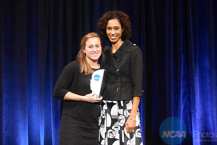 19 Oct 2008:  The 2008 NCAA Woman of the Year event was held in Indianapolis, IN. Trevor Brown, Jr./NCAA Photos