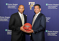 FIU Men's Basketball Press Conference Introducing Anthony Evans (4/16/13)