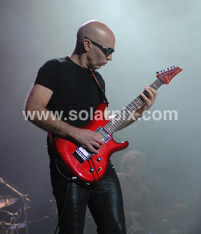 **ALL ROUND PICTURES FROM SOLARPIX.COM**.**WORLDWIDE SYNDICATION RIGHTS**.Joe Satriani performs live at the Manchester Apollo, Manchester, UK. 15th May 2008..JOB REF: 6452 SGD     DATE: 15_05_2008.**MUST CREDIT SOLARPIX.COM OR DOUBLE FEE WILL BE CHARGED* *UNDER NO CIRCUMSTANCES IS THIS IMAGE TO BE REPRODUCED FOR ANY ONLINE EDITION WITHOUT PRIOR PERMISSION*