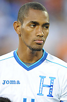 Washington, D.C.- May 29, 2014. Honduras forward Jerry Bengston.  Turkey defeated Honduras 2-0 during an international friendly game at RFK Stadium.