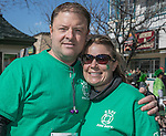 Rich Richhart and Jessi Russell during the Shamrock Shuffle 5k fun run in Sparks on Saturday, March 4, 2017.