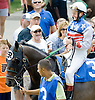 Clean Energy with Trevor McCarthy before The Gentleman International Fegentri Race at Delaware Park on 9/3/11