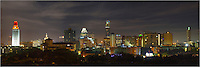 Late at night after a Texas Longhorn's victory in football, the UT Tower shines orange on the edge of the ever expanding Austin skyline. Pictured in this downtown panorama are the tip of the Texas state capitol, the iconic Frost Tower, and the tallest building in Austin (currently), the Austonian.  From what I have read, this Austin skyline will be almost unrecognizable within 5 years with all the current and planned construction. That should keep me busy as I continue to photograph my favorite Texas city and its landscapes for years to come.