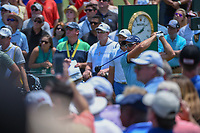 Henrik Stenson (SWE) watches his tee shot on 1 during round 1 of The Players Championship, TPC Sawgrass, at Ponte Vedra, Florida, USA. 5/10/2018.<br /> Picture: Golffile | Ken Murray<br /> <br /> <br /> All photo usage must carry mandatory copyright credit (&copy; Golffile | Ken Murray)