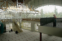 The Sakirin Mosque in Uskudar, Istanbul. Newly built in May 2009, architect Husrev Tayla, interior designer Zeynep Fadilioglu