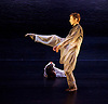 Rambert Dance <br /> New Choreography at The Place, London, Great Britain <br /> 16th December 2014 <br /> <br /> Rift <br /> by Simone Damberg Wurtz<br /> danced by <br /> Daniel Davidson <br /> Edit Domosziai<br /> <br /> <br /> <br /> Photograph by Elliott Franks <br /> Image licensed to Elliott Franks Photography Services