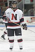 Brian Deeth - The Boston College Eagles and Northeastern University Huskies tied at 1 on Saturday, October 22, 2005, at Matthews Arena in Boston, Massachusetts.
