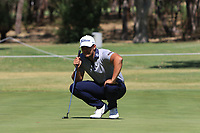 Dimitrios Papadatos (AUS) in action on the 1st during Round 2 Matchplay of the ISPS Handa World Super 6 Perth at Lake Karrinyup Country Club on the Sunday 11th February 2018.<br /> Picture:  Thos Caffrey / www.golffile.ie<br /> <br /> All photo usage must carry mandatory copyright credit (&copy; Golffile | Thos Caffrey)