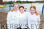 Sandra Bunyan, Lauren O'Flaherty and Roisin O'Mahony, all from Tralee, who took part in the Colour Dash 5km Colour Run, in aid of Crumlin Children's Hospital at Tralee Bay Wetlands, on Sunday morning last.